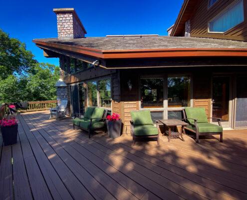 Brixen Ivy Ranch Main Lodge Deck